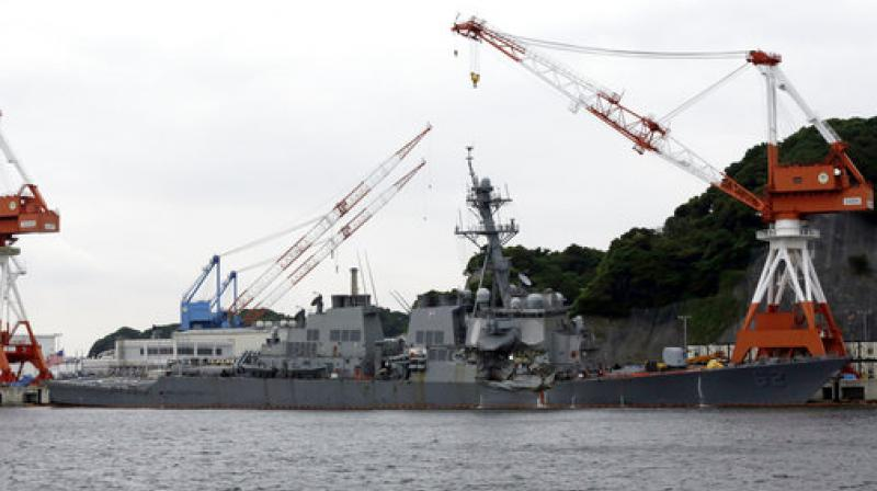 Navy: Bodies of missing sailors found aboard USS