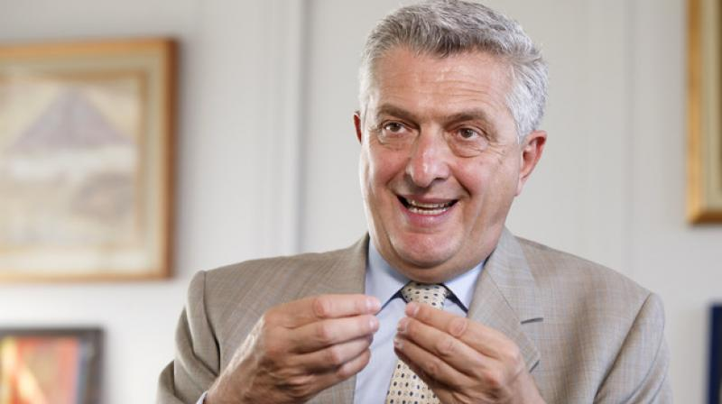 UN High Commissioner for Refugees Filippo Grandi. (Photo: AP)