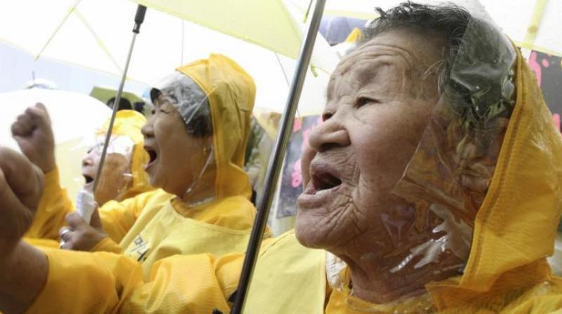 Several of the surviving South Korean comfort women currently numbering 37 refused to accept the final compensation provided by Japan. (Photo: Representational/AP)