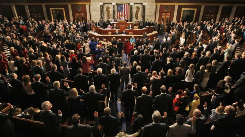 US House of Representatives. (Photo: AP)
