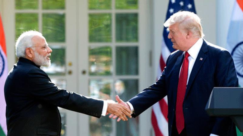 US President Donald Trump and Prime Minister Narendra Modi (Photo: AP)