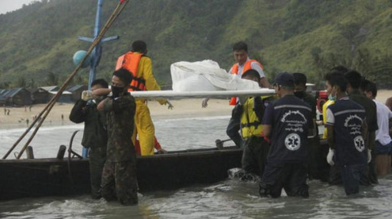 The military had previously said a large cloud was the likely cause of the disaster and a team including Myanmar military. (Photo: File)