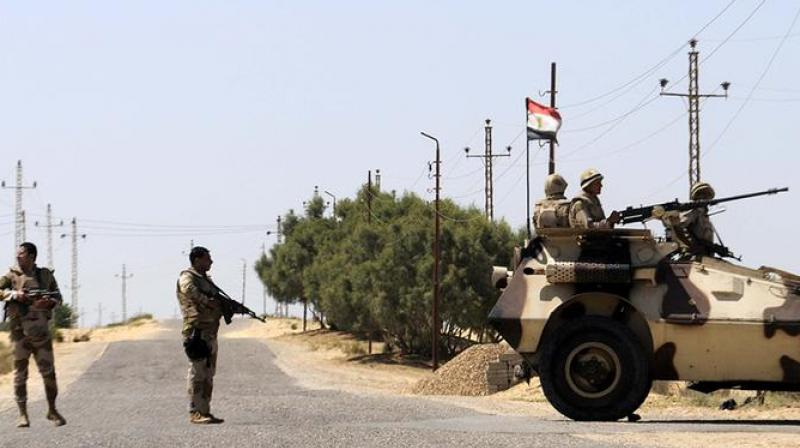 The Egyptian authorities are battling an insurgency by the Islamic State (ISIS) group in North Sinai that has killed hundreds of members of the security forces. (Photo: Representational/AFP)