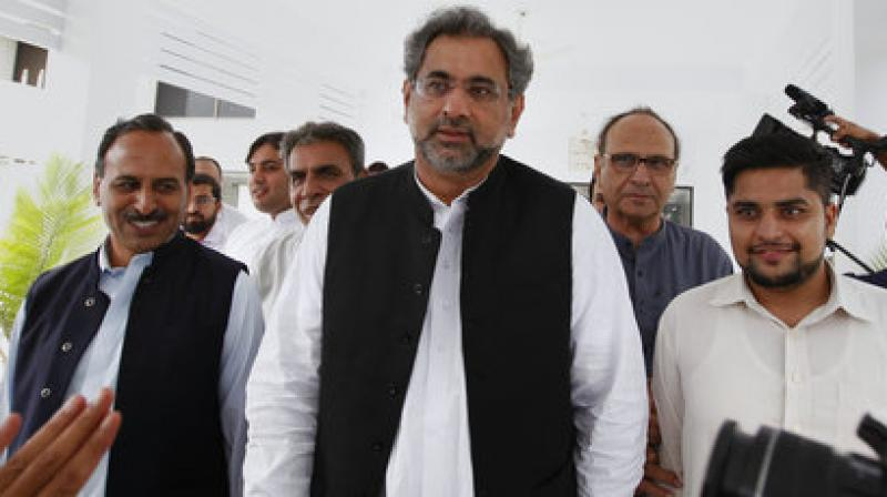Abbasi, who assumed premiership after the Supreme Court disqualified Nawaz Sharif, had contested from NA-57 parliamentary seat in Rawalpindi as a Pakistan Muslim League-Nawaz (PML-N) candidate. (Photo: File/AP)