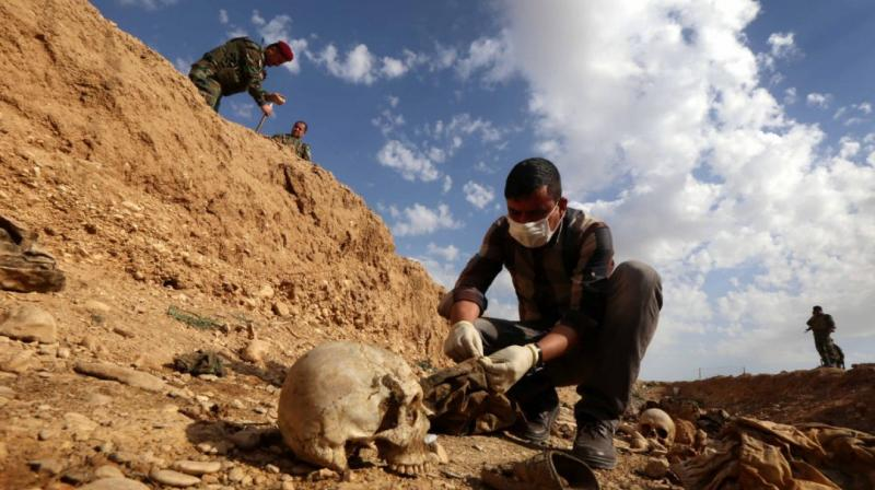 Bodies found in a mass grave in Northern Mali. (Photo: Representational/AFP)