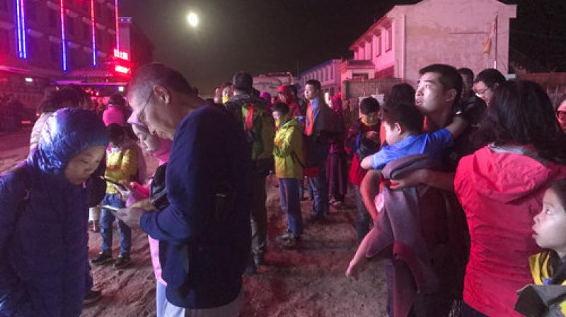 Six tourists and two local residents were known to be among the dead, and 18 people had serious injuries, local authorities said. (Photo: AP)