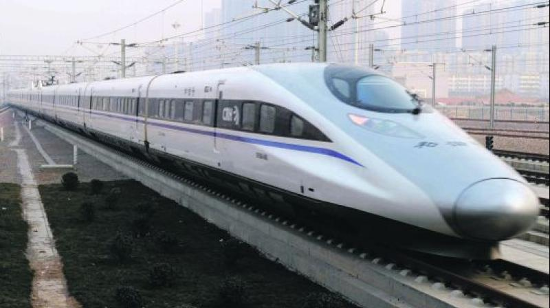 China to relaunch one of the world's fastest bullet trains