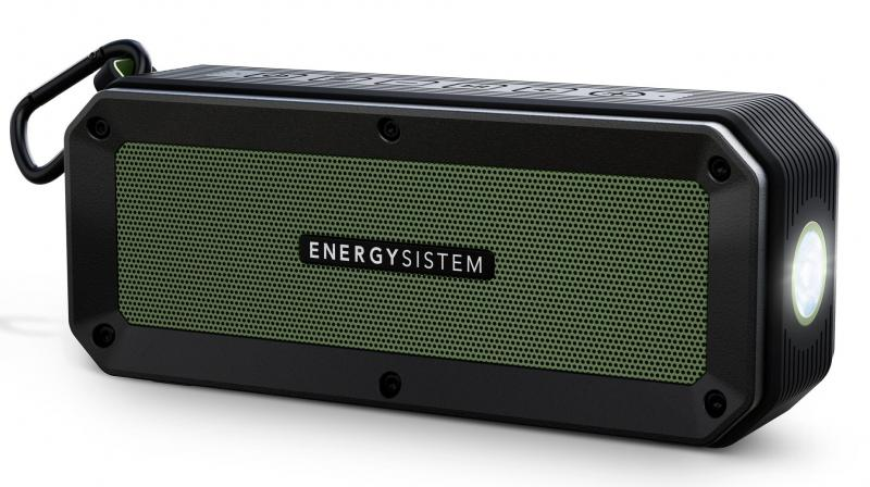 Energy Outdoor Box Adventure is a portable Bluetooth speaker made for outdoor adverturers.