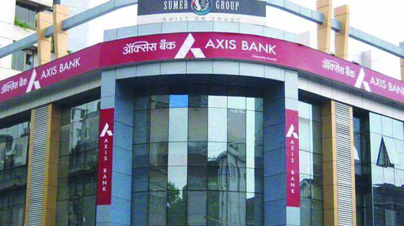 The shares of Axis Bank were trading at Rs 729.80 a piece on BSE, down 0.75 per cent from the previous close.