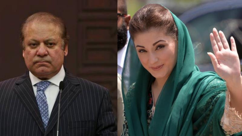 Sharif's daughter Maryam and son-in-law Safdar were also present at the event. (Photo: File)