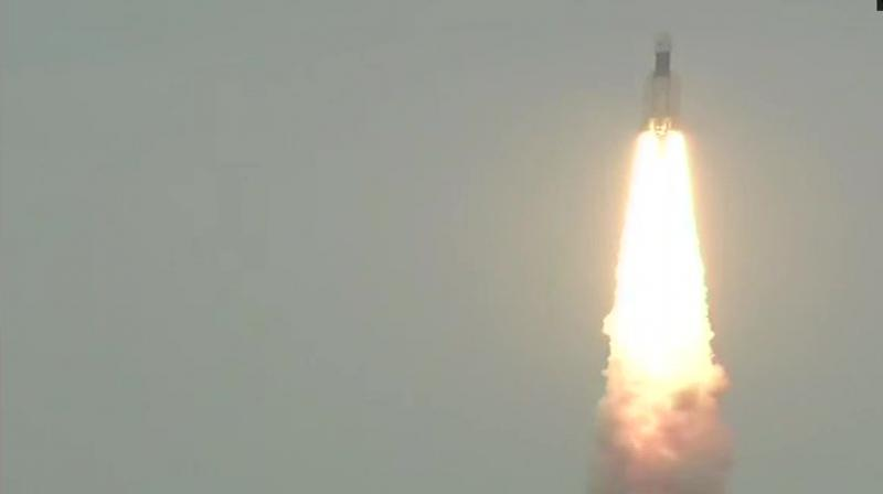 The launch of Chandrayaan-2 was originally slated for July 16 when it had a window of over an hour but had to be aborted an hour before lift-off because of a fuel leak. (Photo: ISRO | Twitter)