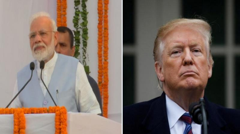 PM Modi expressed the need for an early meet between Commerce Minister of India and US Trade Representative to discuss bilateral trade prospects. (Photo: ANI)