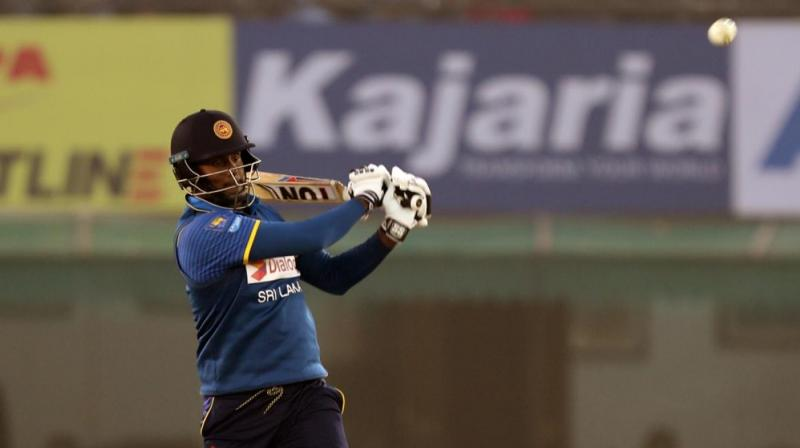 Angelo Mathews struck a vital century to save Sri Lanka from the blushes. (Photo:BCCI)