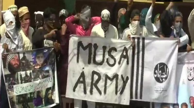 Similar clashes were reported in Sopore in north Kashmir and Anantnag in south Kashmir, the officials said. (Photo: ANI)