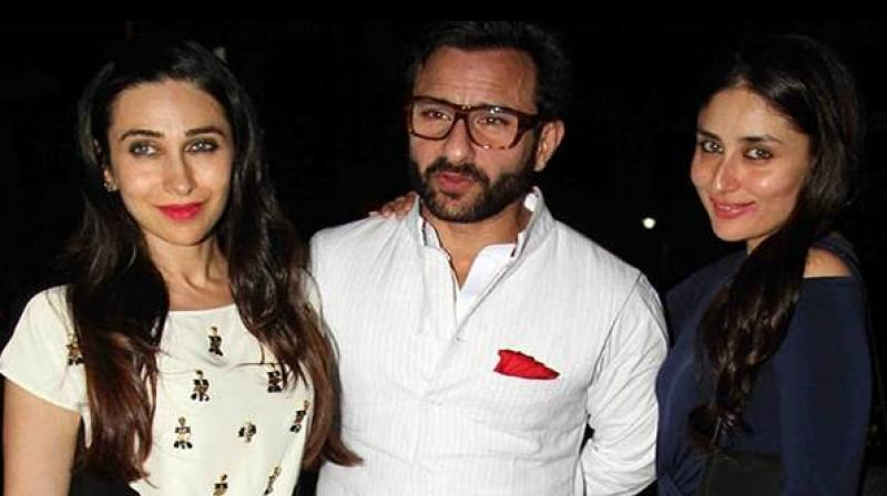 Karisma Kapoor was of their family members to see Saif and Kareena's baby.
