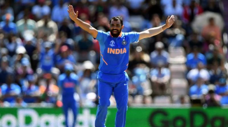 Mohammad Shami (Photo: Cricket World Cup / Twitter)