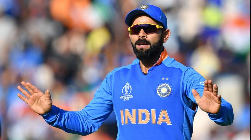 Kohli admitted the offence and accepted the sanction proposed by the match referee Chris Broad of the Emirates ICC Elite Panel of Match Referees. (Photo: AFP)