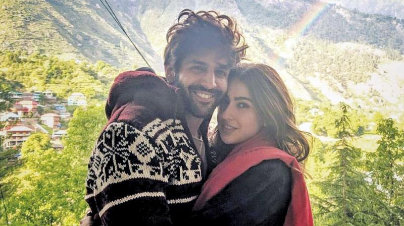 Sara Ali Khan and Kartik Aryan