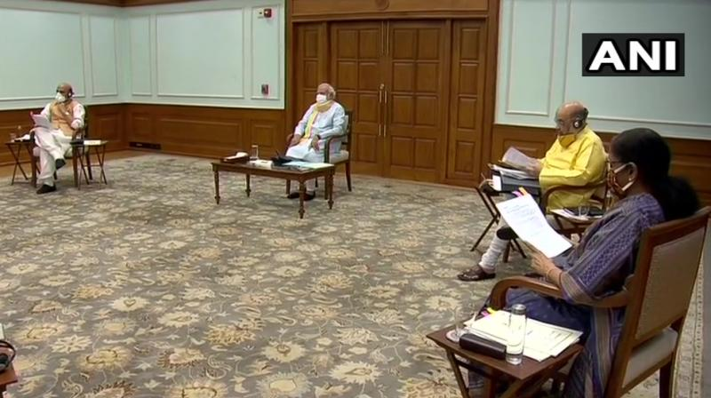 The Union Cabinet can have up to 81 members, but currently there are only 53 (with 28 vacancies). (ANI file photo)