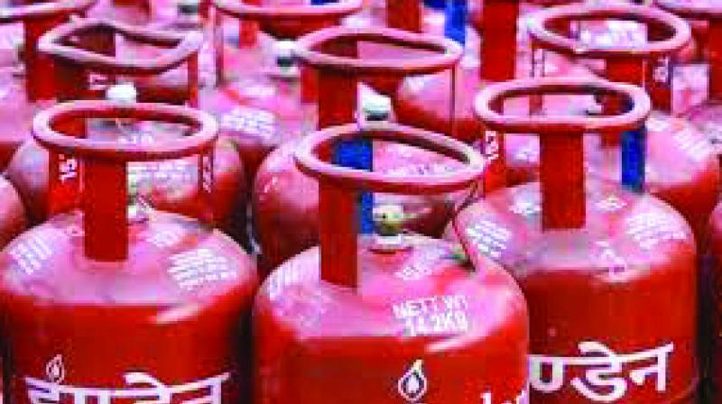 Subsidised LPG rate was reduced by Rs 3.02 per 14.2-kg cylinder to Rs 494.35 in Delhi. (Photo: File)
