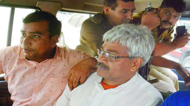 Journalist Vinod Verma, arrested in connection with the CD case, was sent to judicial custody till Nov 13 by a court in Raipur. (Photo: PTI)
