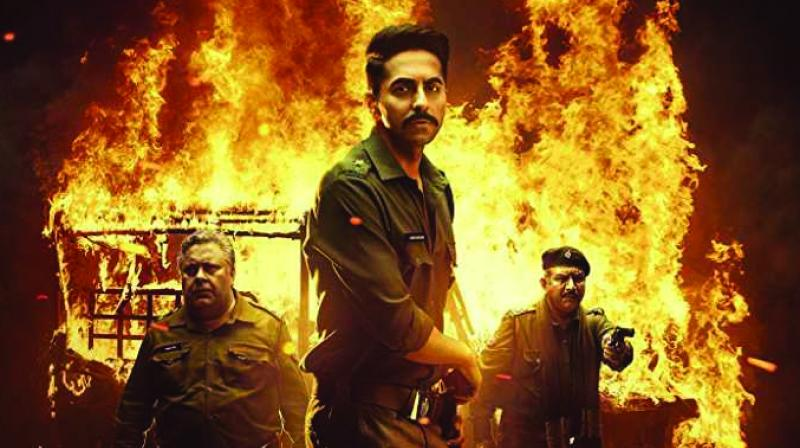 Ayushmann Khurrana plays the role of a cop in Anubhav Sinha's 'Article 15' which released on June 28, 2019.
