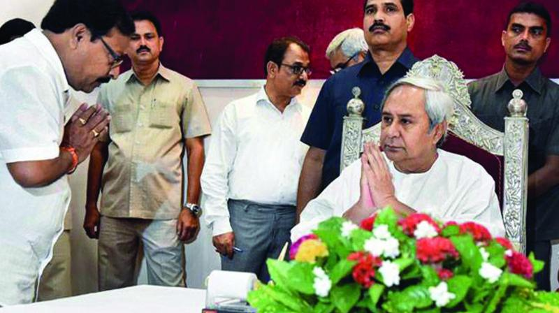 BJD chief Naveen Patnaik is trying to sideline tainted leaders of his party