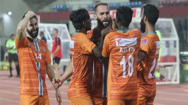 I-League 2018-19 champions Chennai City, meanwhile, progressed to the semi-finals and will back themselves to clinch the double this season. (Photo: AIFF)