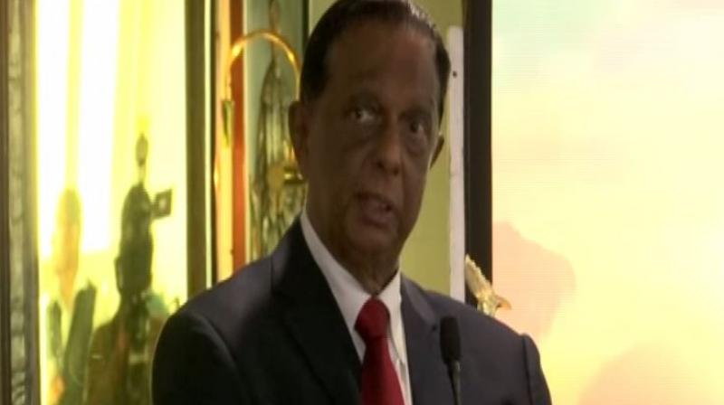 'Prime Minister Modi came to Sri Lanka and it is the proof that Sri Lanka is safe. He visited churches there. He was cordial and comfortable and what is a better proof of safety than that,' Amaratunga told ANI. (Photo: ANI)