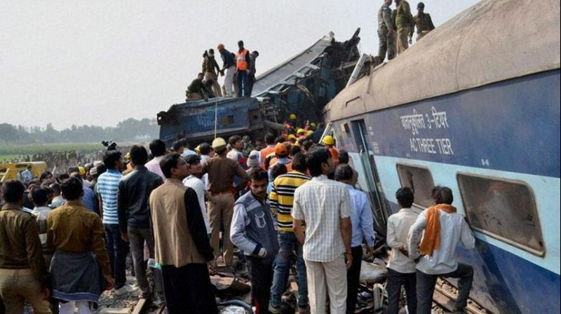 It was said that Pakistan's ISI was responsible for Kanpur train mishap. (Photo:PTI)