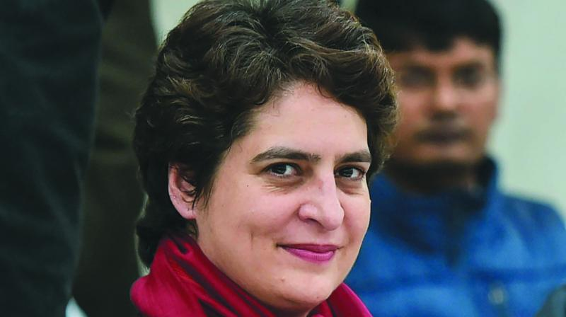 There was a security breach at Congress leader Priyanka Gandhi Vadra's Lodhi Estate home last week with unknown persons barging in and asking for selfies. (Photo: File)