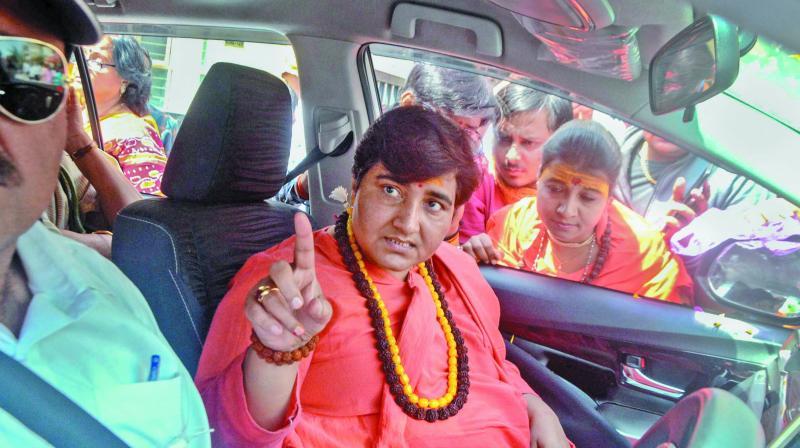 BJP MP Sadhvi Pragya Singh Thakur (Photo: PTI)