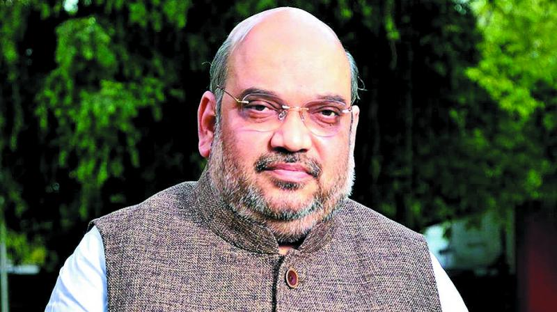 The helicopter was on its way to Akole in Ahmednagar district, over 70 kilometres from Nashik, where Shah was to address a poll rally. (Photo: File)