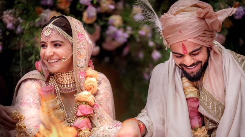 This year ended with Virat Kohli marrying Anushka Sharma, exuberantly celebrating the occasion across continents, and Prince Harry putting a ring on Meghan Markle's finger.