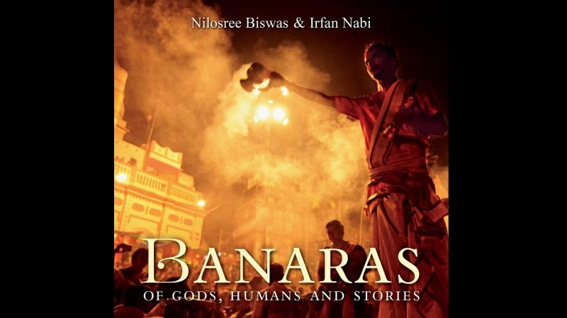 Cover page of Banaras: of Gods, Humans and Stories