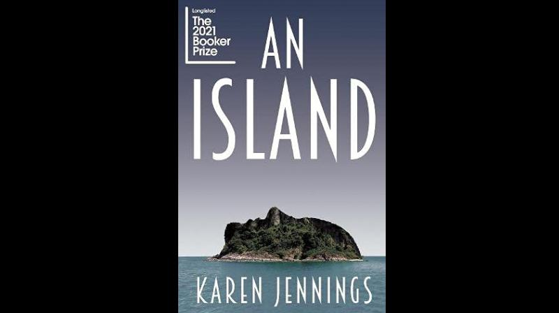 Cover page of An Island by Karen Jennings