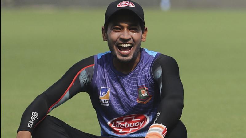 Mushfiqur Rahim. AP Photo