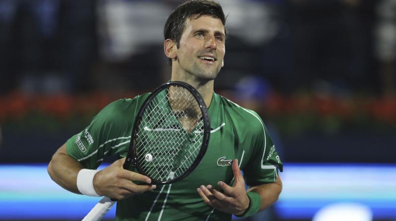 Novak Djokovic. AP Photo