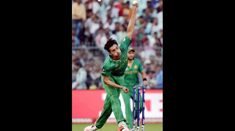 Mohammad Aamir. PTI Photo