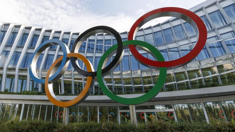 International Olympic Committee headquartersin Lausanne, Switzerland. AP Photo