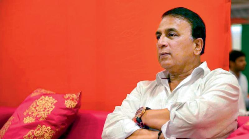 Sunil Gavaskar. DC File Photo