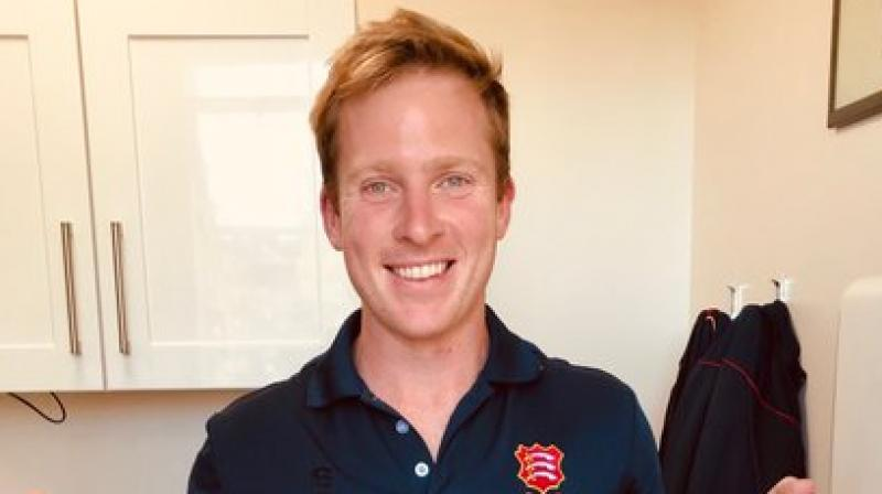 Essex spinner Simon Harmer of South Africa, who was named by the Wisden Almanack as one of five cricketers of the year. Twitter Photo