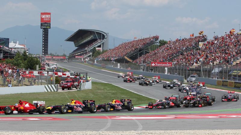 Circuit de Barcelona-Catalunya. Twitter Photo