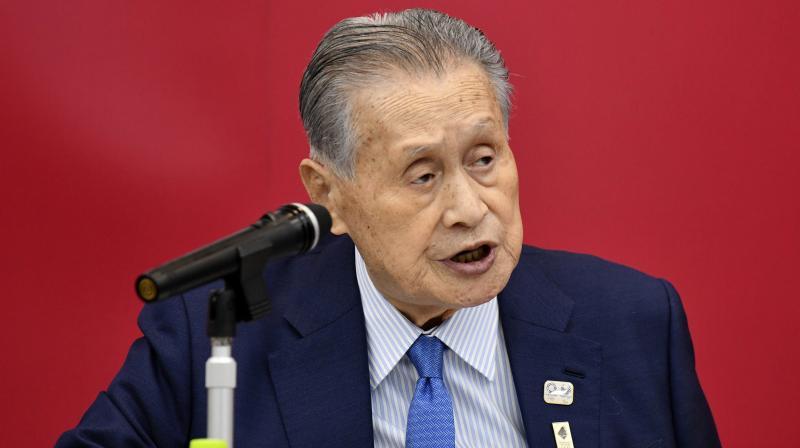 Tokyo 2020 Organizing Committee president Yoshiro Mori. AP Photo