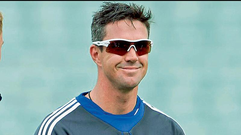 Former England batsman Kevin Pietersen who was one of the highest paid IPL cricketers. DC File Photo