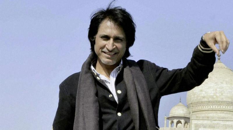 Former Pakistan cricketer Rameez Raja. PTI Photo