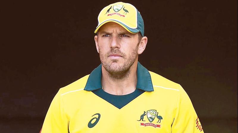 Australian white ball captain Aaron Finch. DC File Photo