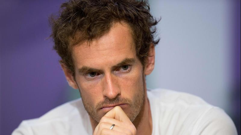Britains Andy Murray in a pensive mood. AFP Photo