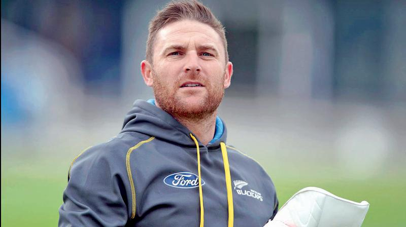 Former New Zealand captain Brendon McCullum. DC File Photo