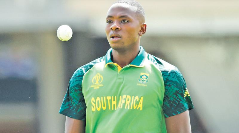 South Africa pace bowler Kagiso Rabada. DC File Photo